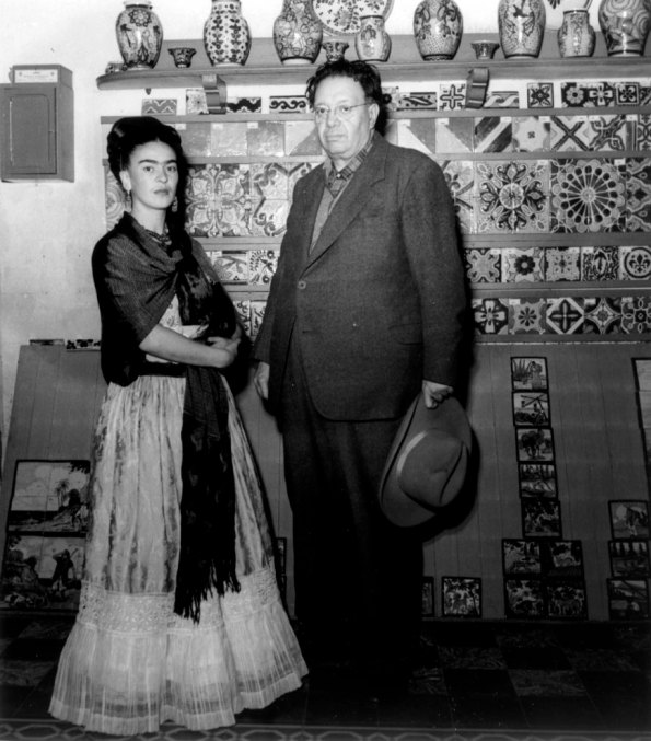 frida kahlo con marito photo from web