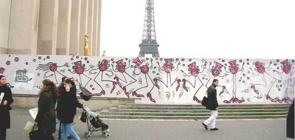 Andrè street art paris photo from web