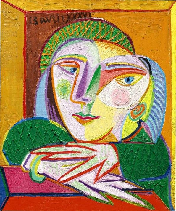 Pablo Picasso's 1936 portrait of his mistress, Femme a la