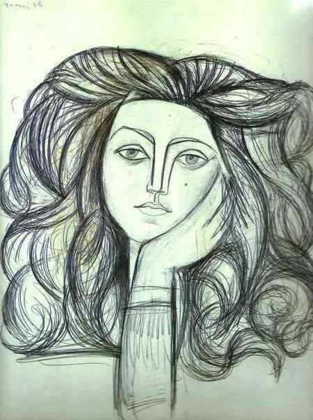 Françoise Gilot picasso photo from web