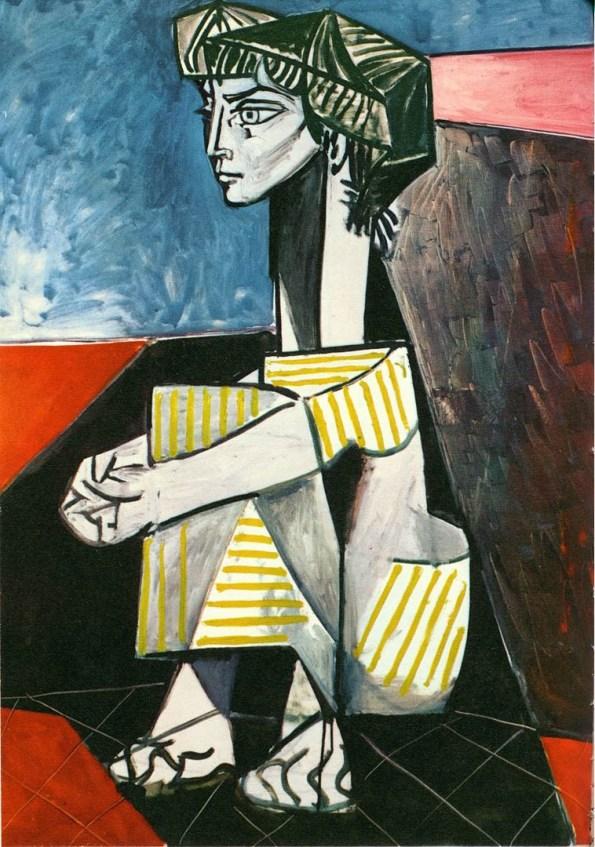 portrait-of-jacqueline-roque-crouching-picasso