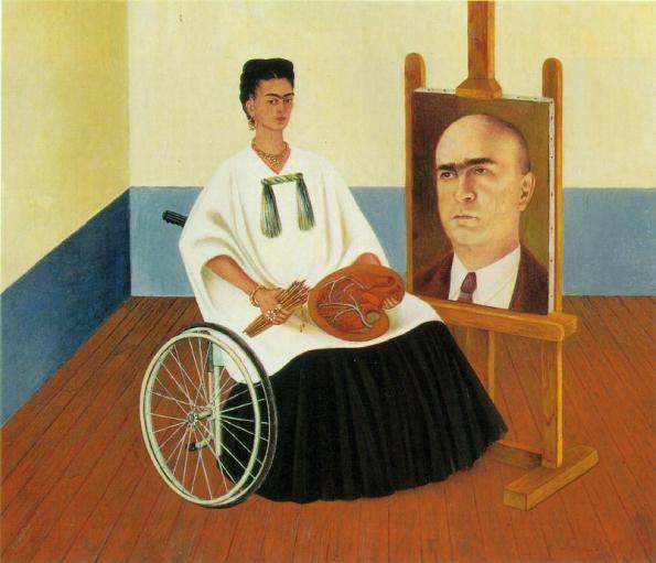 Autoritratto con ritratto del Dottor Farill