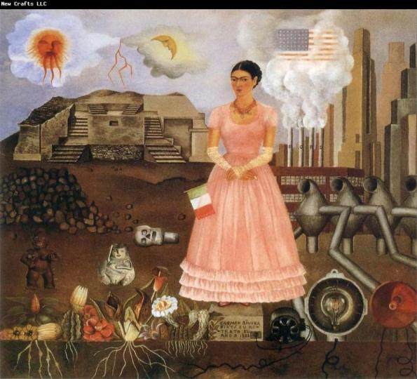 Frida Kahlo-photo from web