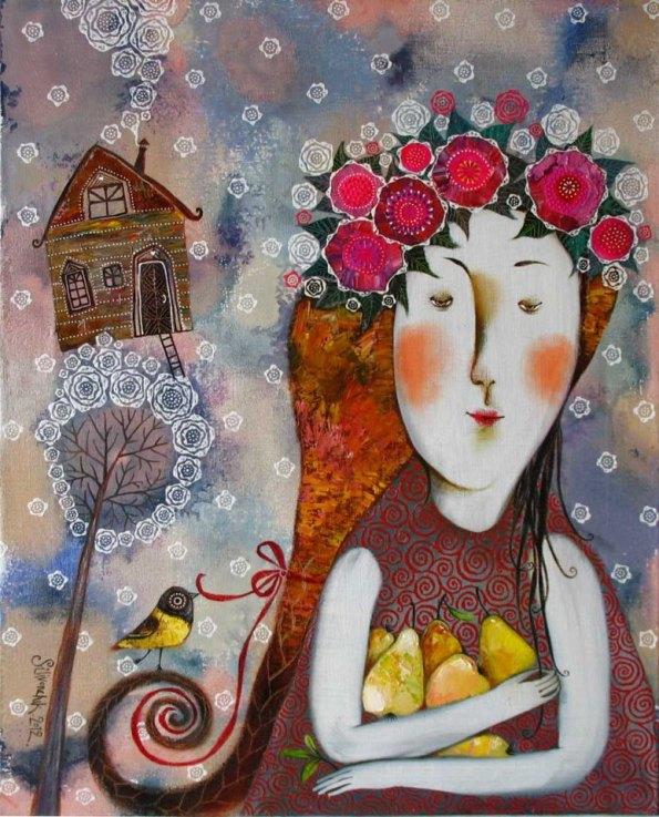 Opera di Anna Slivonchik