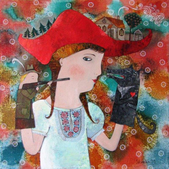 Opera di Anna Silivonchik