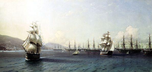 La flotta Russa del Mar nero