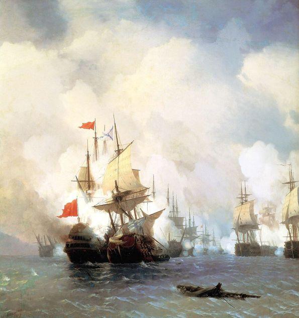 La Battaglia di Chios