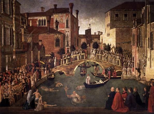 Miracolo della Croce caduta nel canale di San Lorenzo (1500)