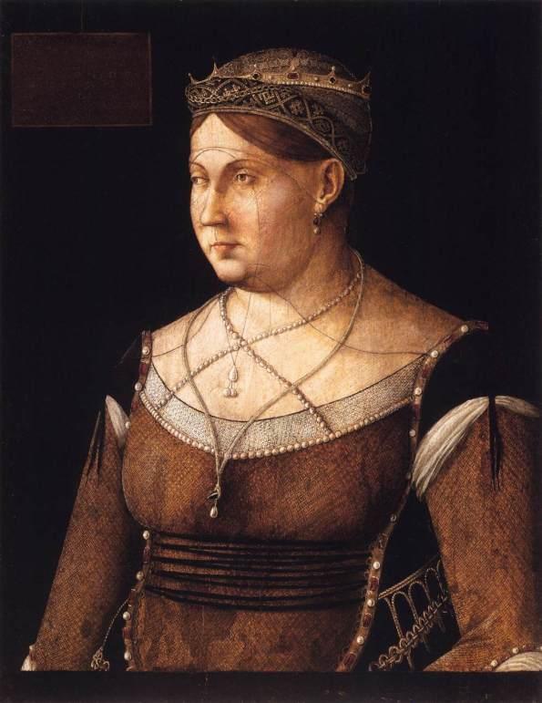 Bellini Gnetile-Ritratto di Caterina Cornaro