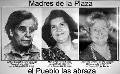 madres desaparecidas