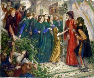 11Dante_Gabriel_Rossetti_-_Beatrice_Meeting_Dante_at_a_Marriage