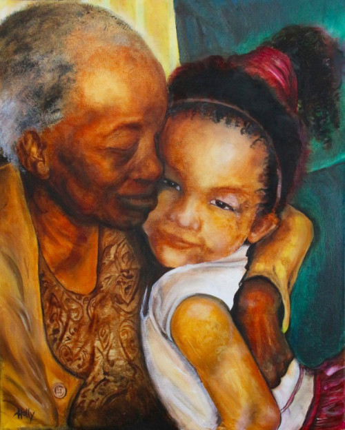 a grandmother's love di holly angelique
