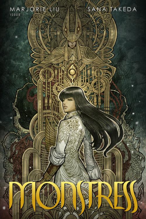 Monstress 1 Cover