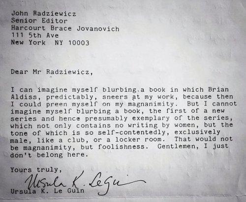 lettera ursula