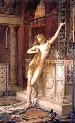 hypatia - Charles William Mitchell