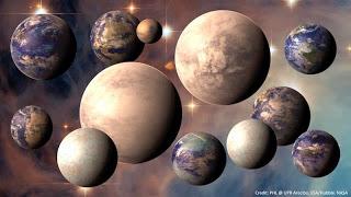 infiniti mondi alieni extraterrestri