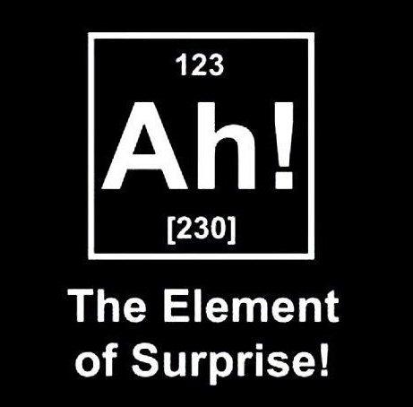 elemento sorpresa