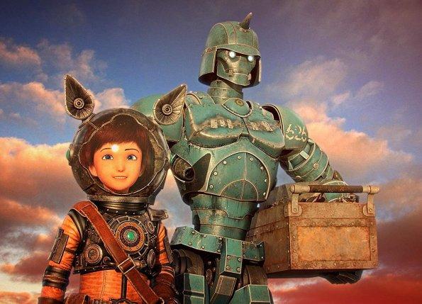 mari e il robot